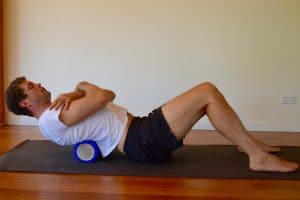Foam-Roller-Upper-Back-Exercise